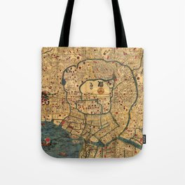 Edo State at Feudal Japan. Tote Bag