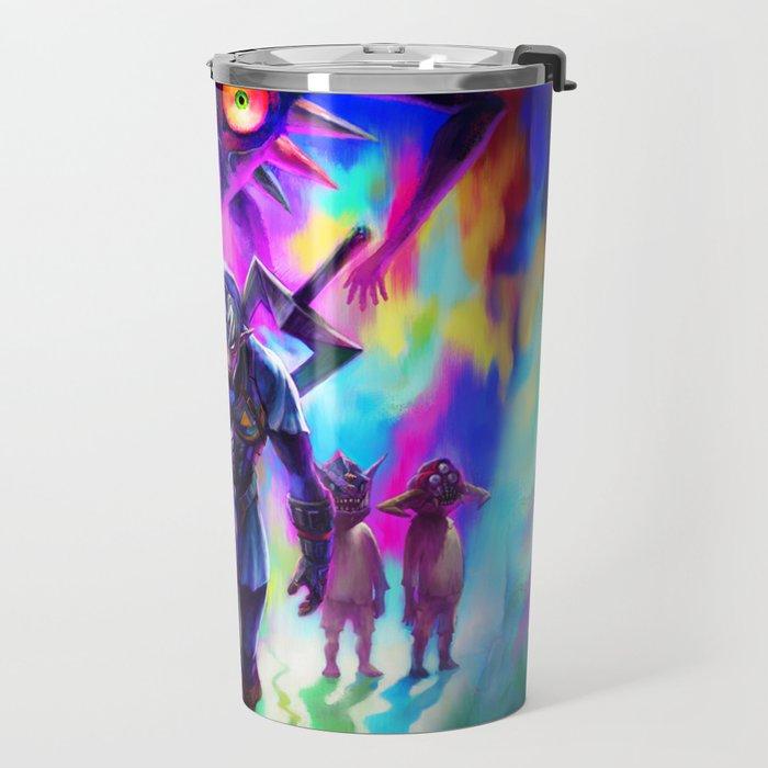 ZELDA LINK ART PAINT Travel Mug