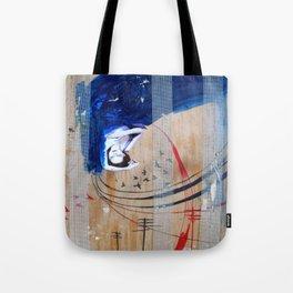blue velvet Tote Bag