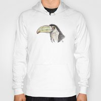 toucan Hoodies featuring Toucan by Ursula Rodgers