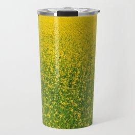 Mustard Field (of Yellow and Green) Travel Mug