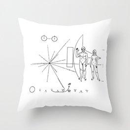 SETI Alien search by NASA Throw Pillow