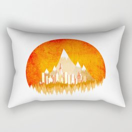 Sunny Nature Rectangular Pillow