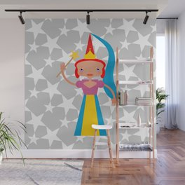 Fairy with wand Wall Mural