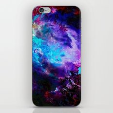 Space Flowers iPhone & iPod Skin