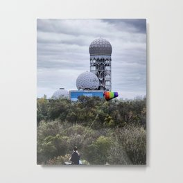 Field Station, Teufelsberg, Berlin Metal Print