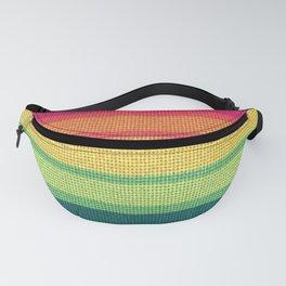 Woven Rainbow 06 Fanny Pack