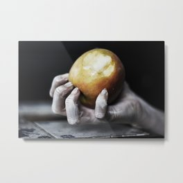 apple juice Metal Print
