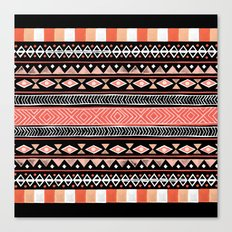 Mojave Black Canvas Print