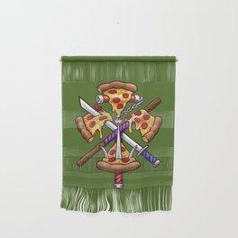Ninja Pizza Wall Hanging