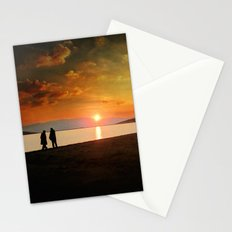 Sunset over Mytilene Stationery Cards