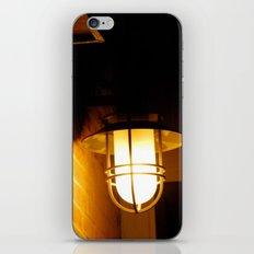 Yellow streetlight iPhone Skin
