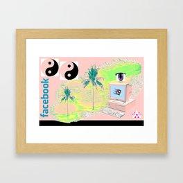 CTRL ALT DEL.mp3 Framed Art Print