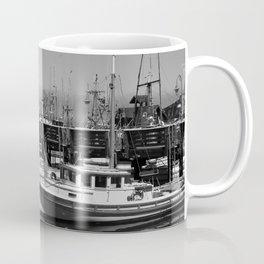 Boats At Fishermans Wharf San Francisco Coffee Mug