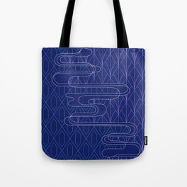 Sashiko Diamonds Tote Bag