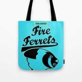 Future Industries Fire Ferrets Tote Bag