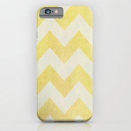 Sun-Kissed Chevron iPhone Case
