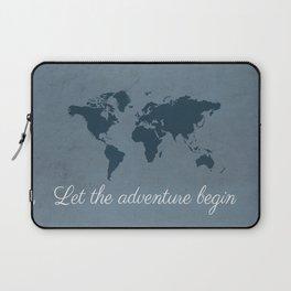 Let the adventure begin Laptop Sleeve