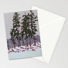 Frozen Island, Algonquin Park Stationery Cards