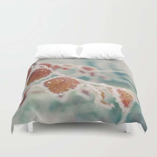 winter time Duvet Cover