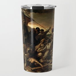The Raft of the Medusa by Théodore Géricault Travel Mug