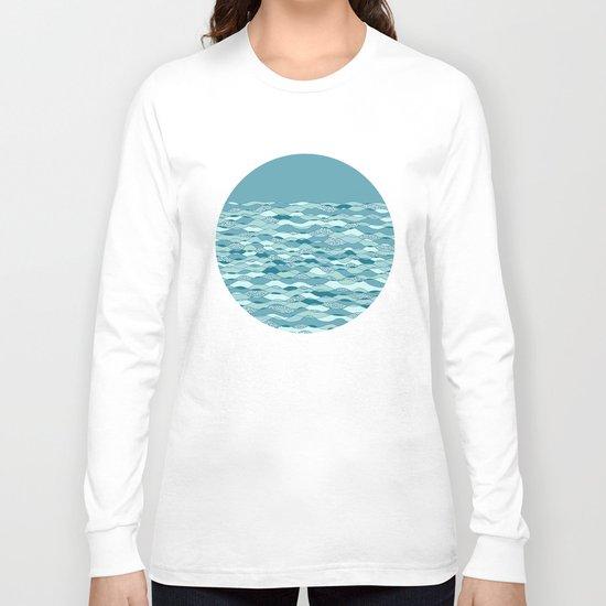 Waves Long Sleeve T-shirt