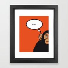 Pop Icon - Bonobo Framed Art Print