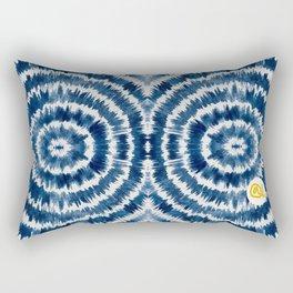 WATERCOLOR SHIBORI Rectangular Pillow