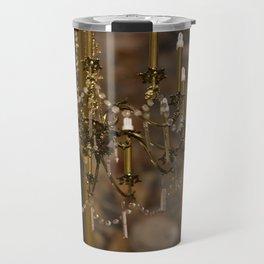 Alight with Enchantment - Chandelier Krakow, Poland Travel Mug