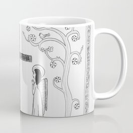 Angels praying Coffee Mug