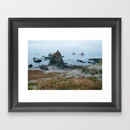 Oregon Coast - Lone Ranch Beach Framed Art Print