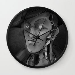 Nick Valentine Wall Clock