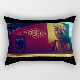 obey. Rectangular Pillow