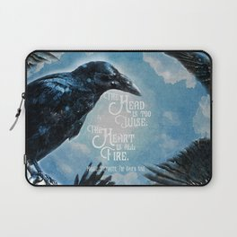 The Raven King - All Fire Laptop Sleeve