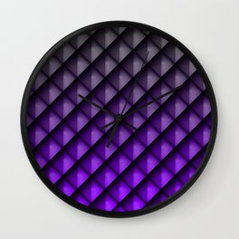 Draco Purple Wall Clock