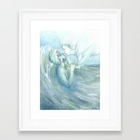 burdge Framed Art Prints featuring All I Ever Wanted by Burdge