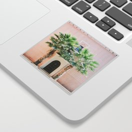 "Travel photography print ""Magical Marrakech"" photo art made in Morocco. Pastel colored. Sticker"