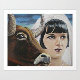 Pandora's Ox Art Print