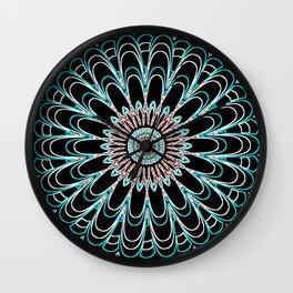 Psychedelic Illusion Mandela Wall Clock