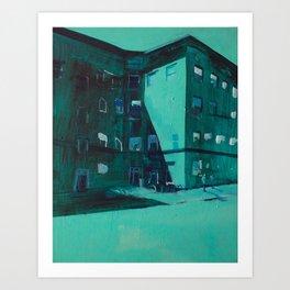 Hopper's Corner (Uptown, Minneapolis) Art Print