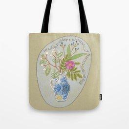 Maine Wildflowers Tote Bag