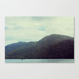 The Last Morning Canvas Print