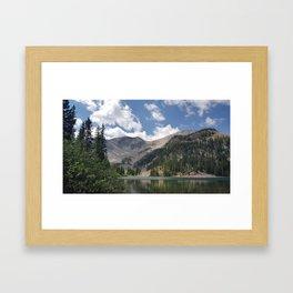 Thomas Lake, Mt. Sopris Framed Art Print