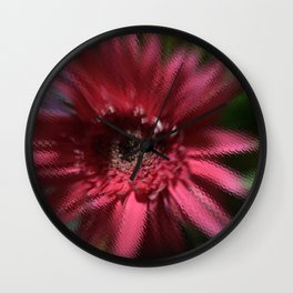 The Liminal Flower Dances Wall Clock