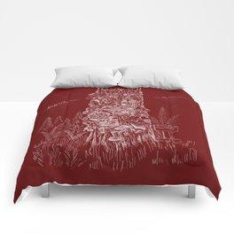 Shoetree in Deep Red Comforters