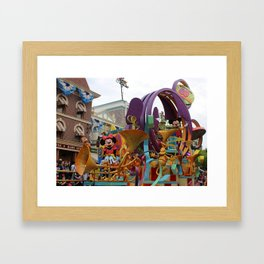 Jammin with the Mouse Framed Art Print