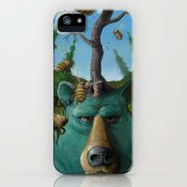 Disavowing Bear iPhone Case