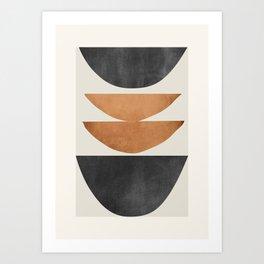 Minimal Abstract Art 40 Art Print