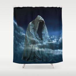 Cloak of Conscience Shower Curtain
