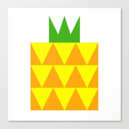 Ong Lai / Pineapple Canvas Print